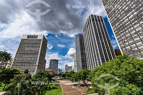 Vista de prédios no Vale do Anhangabaú  - São Paulo - São Paulo (SP) - Brasil