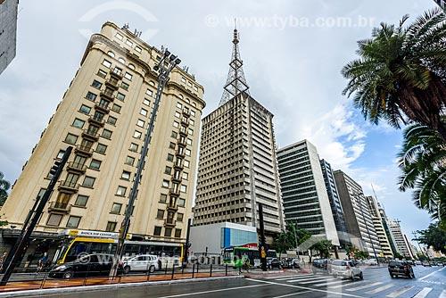 Prédios comerciais na Avenida Paulista  - São Paulo - São Paulo (SP) - Brasil