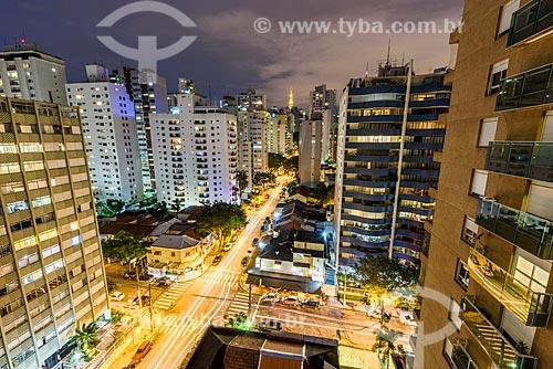 Prédios no Jardim Paulista  - São Paulo - São Paulo (SP) - Brasil