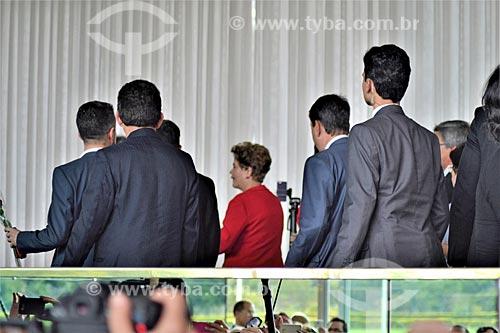 Presidente Dilma Rousseff no Palácio da Alvorada após a aprovação do impeachment no Senado Federal  - Brasília - Distrito Federal (DF) - Brasil