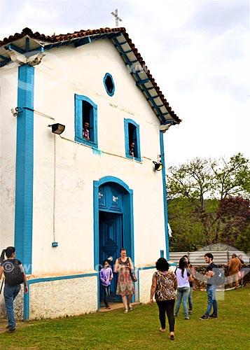 Missa de 1 ano em homenagem aos mortos do rompimento da barragem de rejeitos de mineração da empresa Samarco em Mariana (MG) na Igreja de Nossa Senhora das Mercês  - Mariana - Minas Gerais (MG) - Brasil
