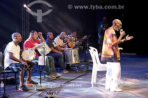 Show no Terreirão do Samba durante o carnaval - Roda de Samba com Nelson Sargento, Nilze Carvalho e Marquinhos Sathan  - Rio de Janeiro - Rio de Janeiro (RJ) - Brasil