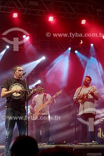Show do Grupo Revelação no Terreirão do Samba durante o carnaval  - Rio de Janeiro - Rio de Janeiro (RJ) - Brasil
