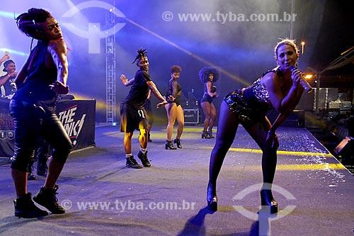 Show de Valesca Popozuda no Terreirão do Samba durante o carnaval  - Rio de Janeiro - Rio de Janeiro (RJ) - Brasil