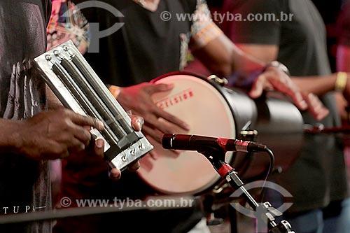 Show do cantor Bebeto Simpatia no Terreirão do Samba durante o carnaval  - Rio de Janeiro - Rio de Janeiro (RJ) - Brasil