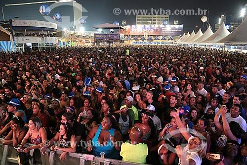 Público no Terreirão do Samba durante o carnaval  - Rio de Janeiro - Rio de Janeiro (RJ) - Brasil