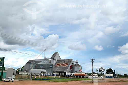 Armazém para a guarda da safra de arroz  - Ariquemes - Rondônia (RO) - Brasil