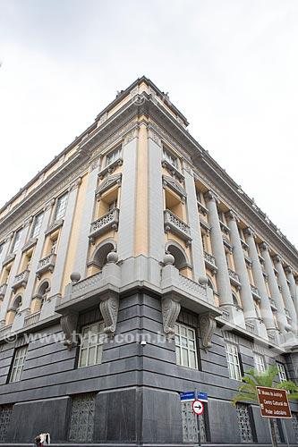 Fachada lateral do Museu da Justiça (1988) - antiga sede do Tribunal de Justiça do Rio de Janeiro  - Rio de Janeiro - Rio de Janeiro (RJ) - Brasil