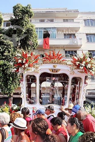 Procissão em celebração à São Sebastião  - Rio de Janeiro - Rio de Janeiro (RJ) - Brasil
