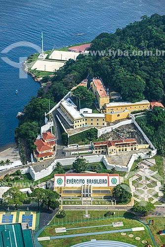 Vista da Fortaleza de São João (1565) a partir do Pão de Açúcar  - Rio de Janeiro - Rio de Janeiro (RJ) - Brasil