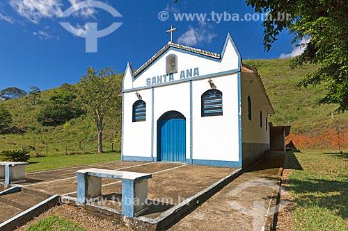 Capela de Santa Ana  - Rio Novo - Minas Gerais (MG) - Brasil