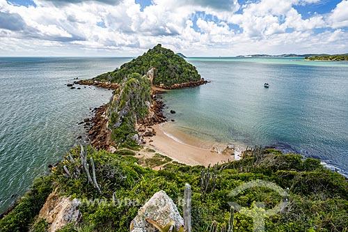 Vista da Ponta do Pai Vitório  - Armação dos Búzios - Rio de Janeiro (RJ) - Brasil