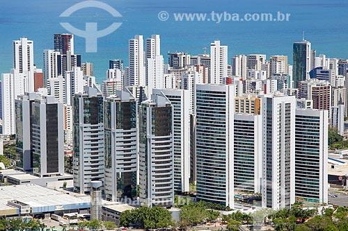 Foto aérea de prédios comerciais  - Recife - Pernambuco (PE) - Brasil