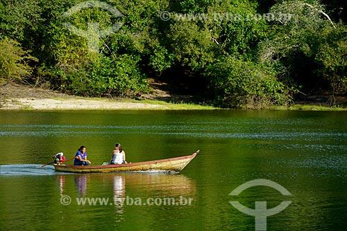 Canoa no Rio Arapiuns  - Santarém - Pará (PA) - Brasil
