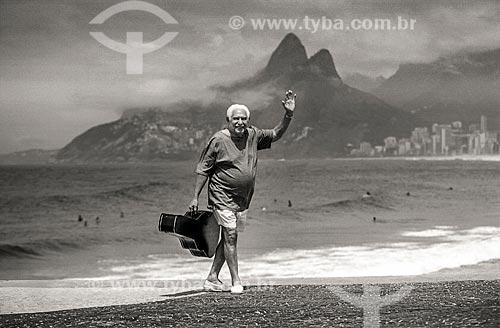 Dorival Caymmi na orla do Rio de Janeiro  - Rio de Janeiro - Rio de Janeiro (RJ) - Brasil