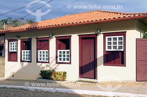 Detalhe de casario no distrito de Piacatuba  - Leopoldina - Minas Gerais (MG) - Brasil