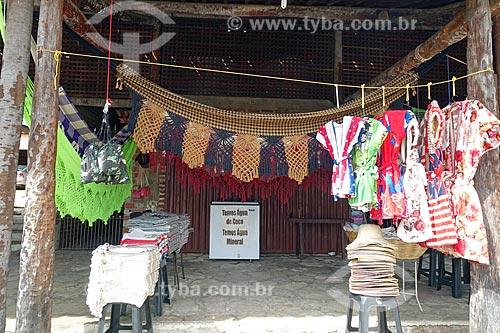 Artesanato em tecido à venda na cidade de Aparecida  - Aparecida - Paraíba (PB) - Brasil
