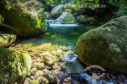 Vista do Poço Verde no Rio Manoel Alexandre  - Cachoeiras de Macacu - Rio de Janeiro (RJ) - Brasil