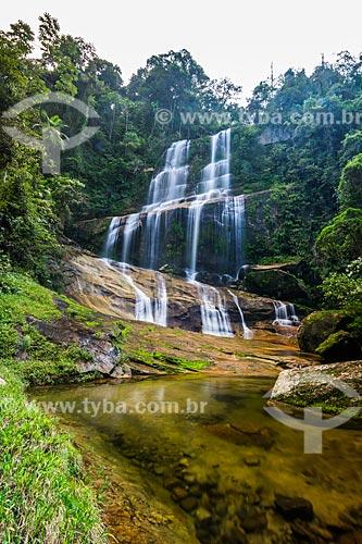 Cachoeira na Reserva Ecológica de Guapiaçu  - Cachoeiras de Macacu - Rio de Janeiro (RJ) - Brasil