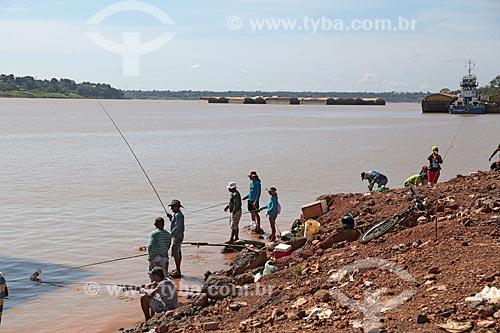 Pescadores no Rio Madeira  - Porto Velho - Rondônia (RO) - Brasil