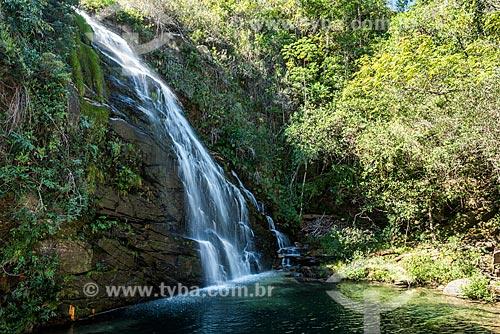Cachoeira da Caverna na Serra do Cipó  - Santana do Riacho - Minas Gerais (MG) - Brasil