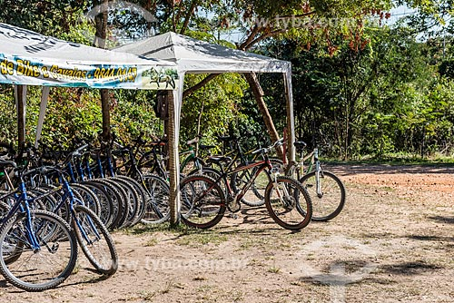 Bicicletas para aluguel no Parque Nacional da Serra do Cipó  - Santana do Riacho - Minas Gerais (MG) - Brasil