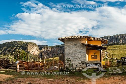 Centro de visitantes próximo à Cachoeira do Tabuleiro no Parque Estadual Serra do Intendente  - Conceição do Mato Dentro - Minas Gerais (MG) - Brasil