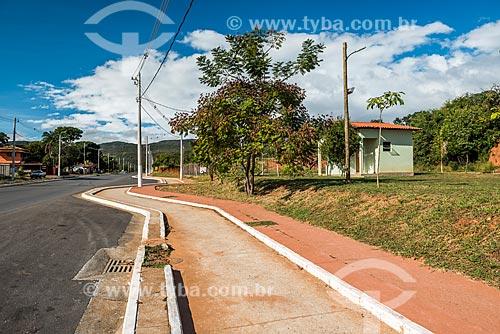 Ciclovia no povoado da Vila do Cipó  - Santana do Riacho - Minas Gerais (MG) - Brasil