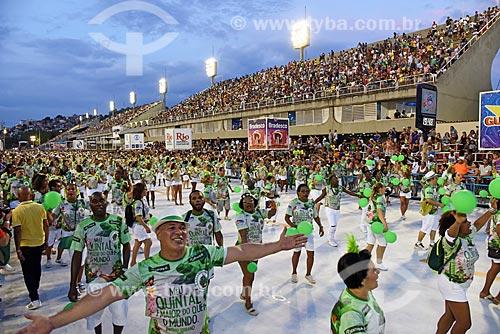 Ensaio técnico para o desfile do Grêmio Recreativo Escola de Samba Império Serrano na Sambódromo da Marquês de Sapucaí  - Rio de Janeiro - Rio de Janeiro (RJ) - Brasil