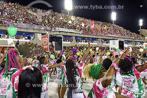 Ensaio técnico para o desfile do Grêmio Recreativo Escola de Samba Estação Primeira de Mangueira no Sambódromo da Marquês de Sapucaí  - Rio de Janeiro - Rio de Janeiro (RJ) - Brasil