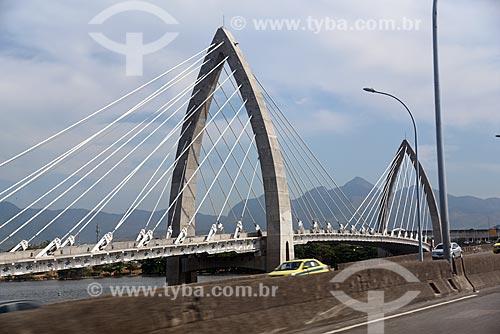 Detalhe da Ponte Prefeito Pereira Passos (2014)  - Rio de Janeiro - Rio de Janeiro (RJ) - Brasil