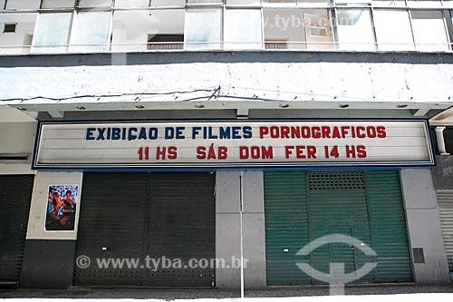 Cinema para exibição de filmes pornográficos na Rua Álvaro Alvim  - Rio de Janeiro - Rio de Janeiro (RJ) - Brasil