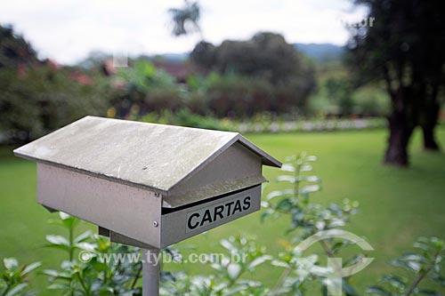 Detalhe de caixa de correio  - Pomerode - Santa Catarina (SC) - Brasil