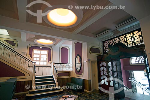 Interior do Cine Teatro Mussi  - Laguna - Santa Catarina (SC) - Brasil