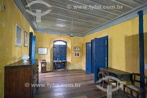 Interior da Casa de Anita Garibaldi  - Laguna - Santa Catarina (SC) - Brasil
