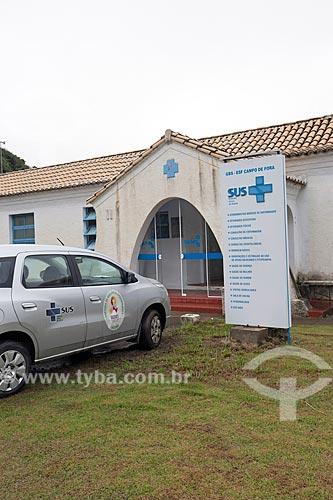 Posto de saúde do Sistema Único de Saúde  - Laguna - Santa Catarina (SC) - Brasil
