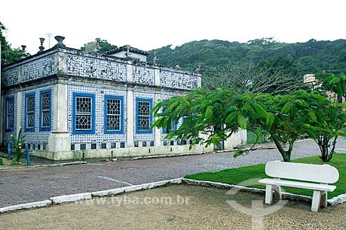 Casa Pinto Dulysséa (1866) - hoje abriga a Fundação Lagunense de Cultura  - Laguna - Santa Catarina (SC) - Brasil