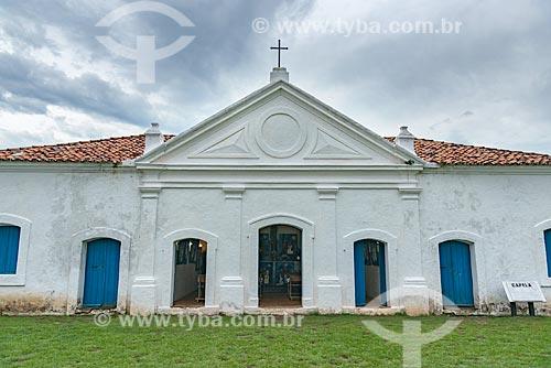 Vista da capela da Fortaleza de São José de Macapá (1754)  - Macapá - Amapá (AP) - Brasil