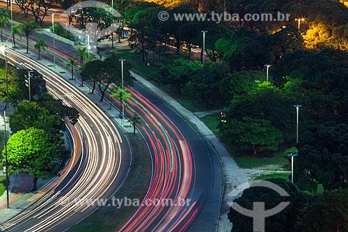 Tráfego na Avenida Praia de Botafogo  - Rio de Janeiro - Rio de Janeiro (RJ) - Brasil