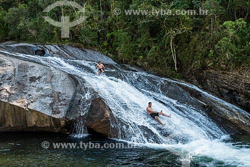 Cachoeira do Escorrega no Parque Nacional de Itatiaia  - Itatiaia - Rio de Janeiro (RJ) - Brasil