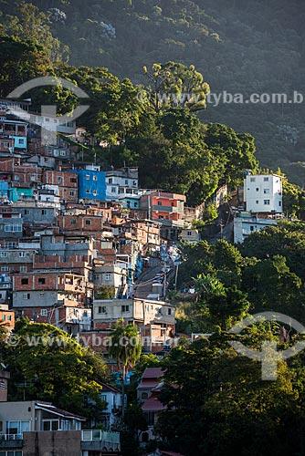 Vista geral da favela do Cerro Corá  - Rio de Janeiro - Rio de Janeiro (RJ) - Brasil