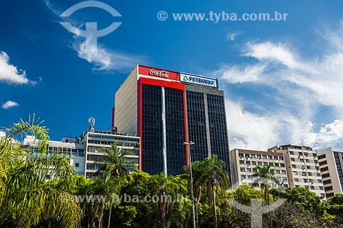 Fachada do prédio das sedes da Coca-Cola e da PetroRio S.A  - Rio de Janeiro - Rio de Janeiro (RJ) - Brasil