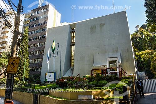 Fachada do prédio da Empresa de Tecnologia e Informações da Previdência Social (Dataprev)  - Rio de Janeiro - Rio de Janeiro (RJ) - Brasil