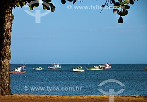 Pesqueiros na Praia de Meaípe  - Guarapari - Espírito Santo (ES) - Brasil