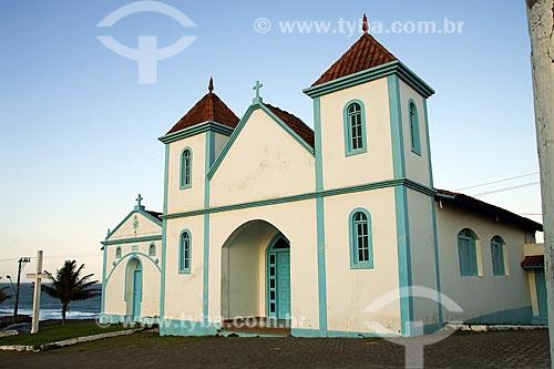 Fachada da Igreja de SantAna (1619)  - Guarapari - Espírito Santo (ES) - Brasil