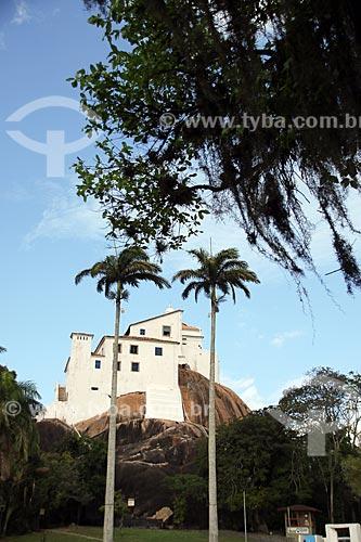 Vista do Convento de Nossa Senhora da Penha (1558)  - Vila Velha - Espírito Santo (ES) - Brasil