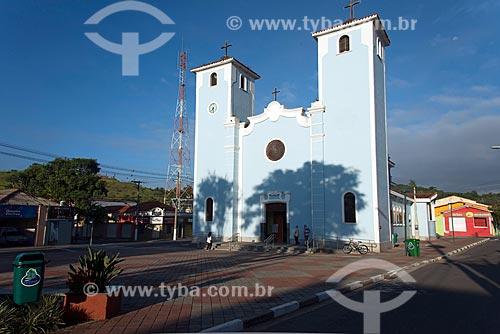 Fachada da Igreja de Nossa Senhora da Escada e São Benedito (1956)  - Guararema - São Paulo (SP) - Brasil