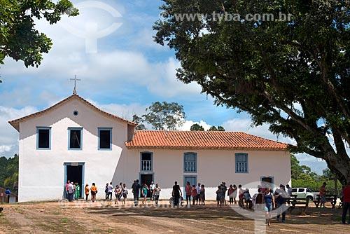 Fachada da Igreja de Nossa Senhora da Escada (1652)  - Guararema - São Paulo (SP) - Brasil