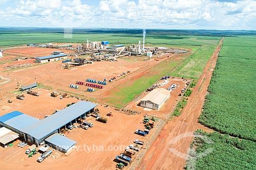 Foto aérea da Usina Pedro Afonso  - Pedro Afonso - Tocantins (TO) - Brasil