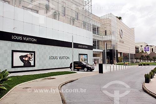 Fachada do Shopping Pátio Batel  - Curitiba - Paraná (PR) - Brasil
